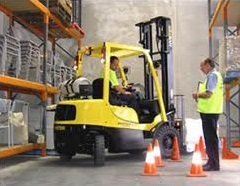 Tony Sellick Fork Lift Training